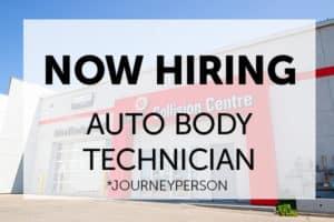 now hiring auto body technician ens collision centre