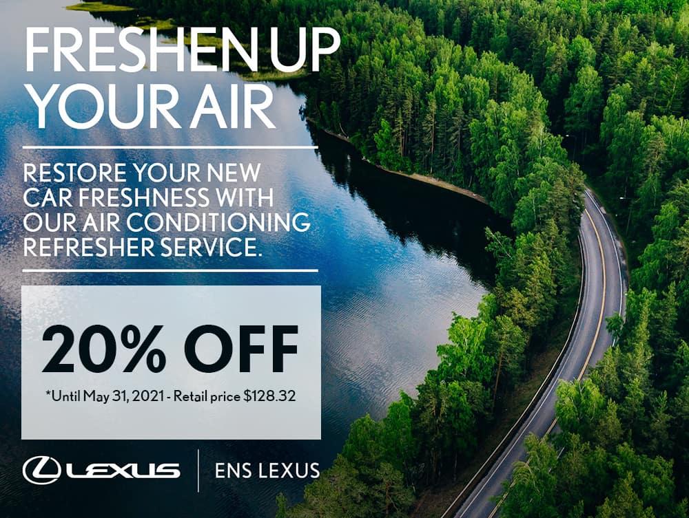 Ens Lexus AC Refresher Service