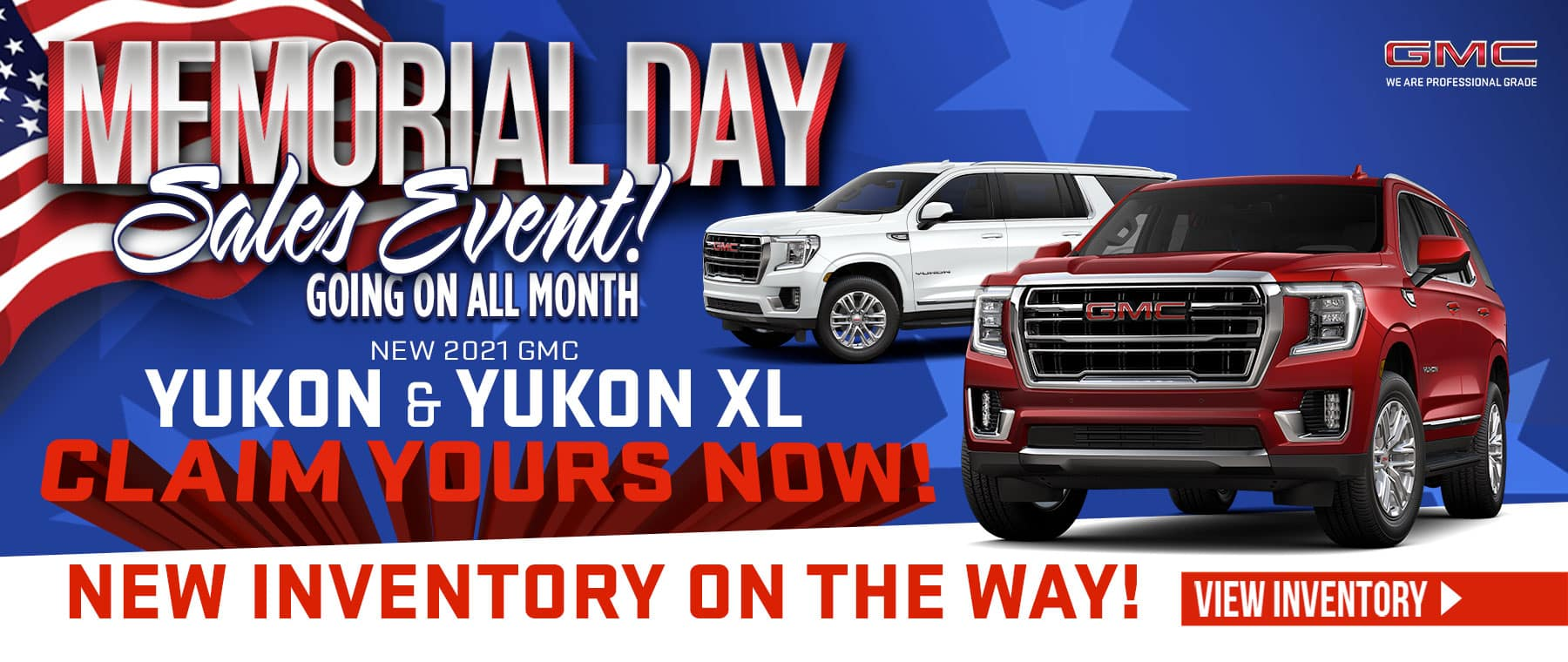 New 2021 GMC Yukon & Yukon XL - New inventory on the Way! Claim yours now