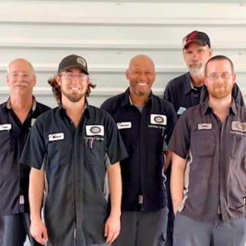 The Gabriel/Jordan Buick GMC Service Technicians
