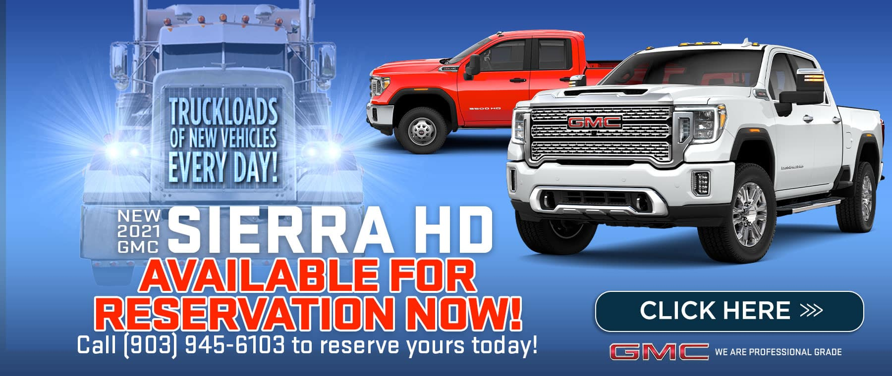New 2021 GMC Sierra HD - Available for reservation now