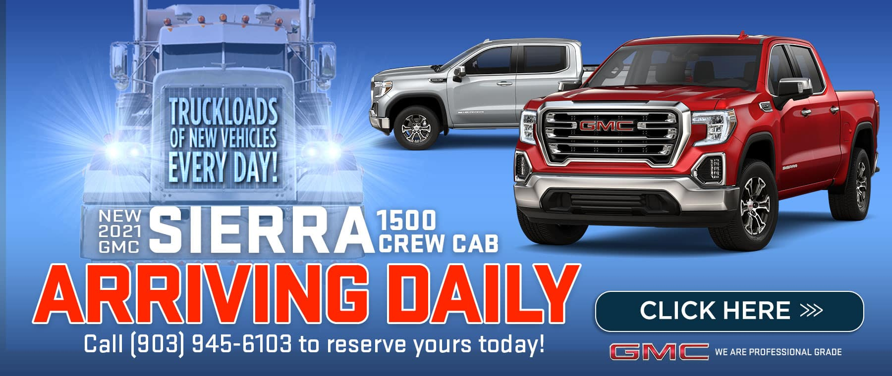 New 2021 Sierra 1500 Crew Cabs Arriving Daily
