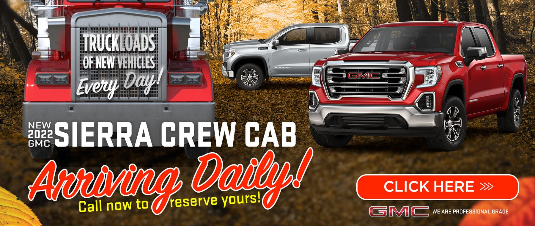 New 2022 Sierra Crew Cab - Arriving Daily