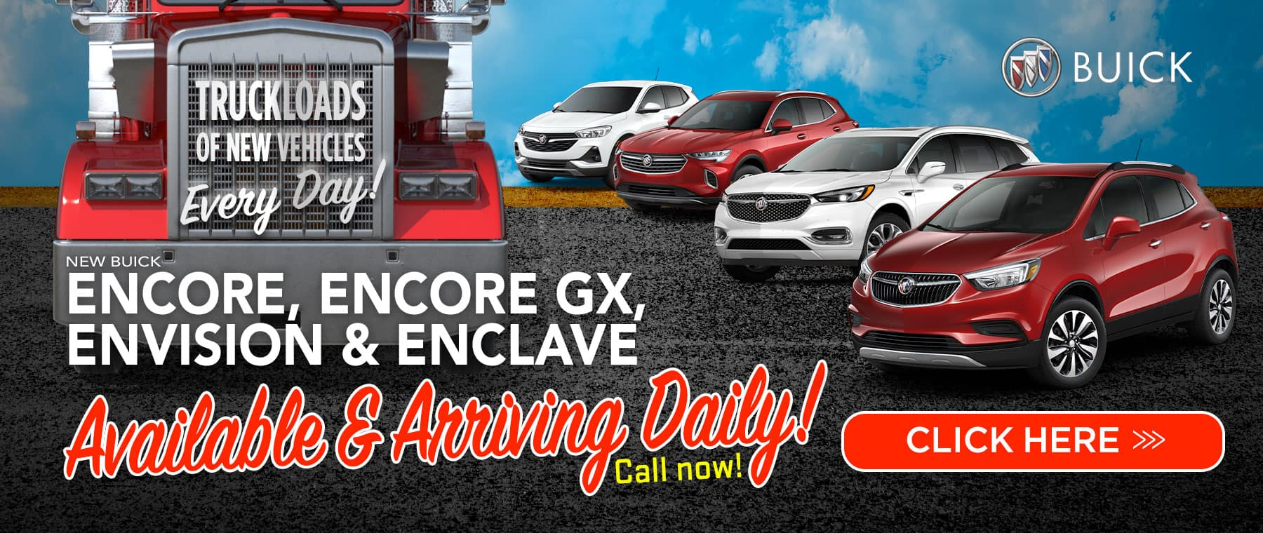 New 2021 Buick Encore, Encore GX, Envision & Enclave - Arriving Daily