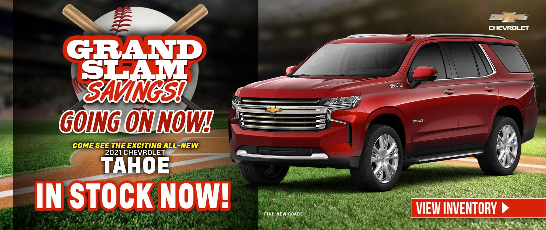 Come see the exciting All-New 2021 Chevrolet Tahoe - In Stock Now!