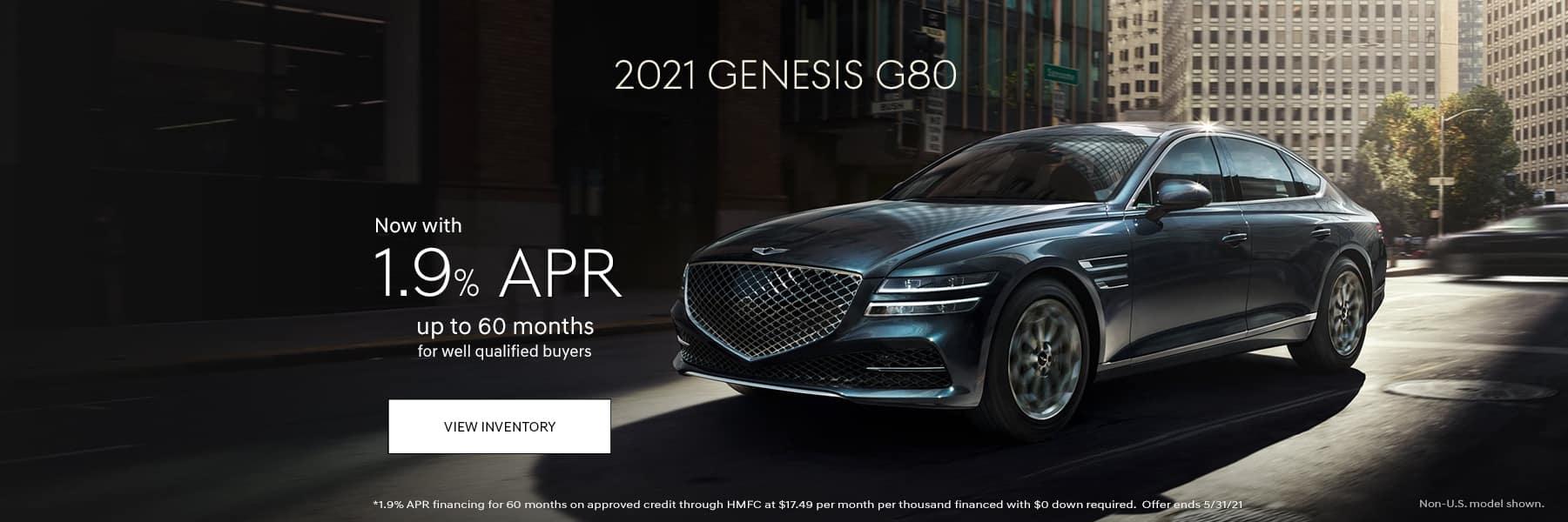 2021-Genesis-G80-May21