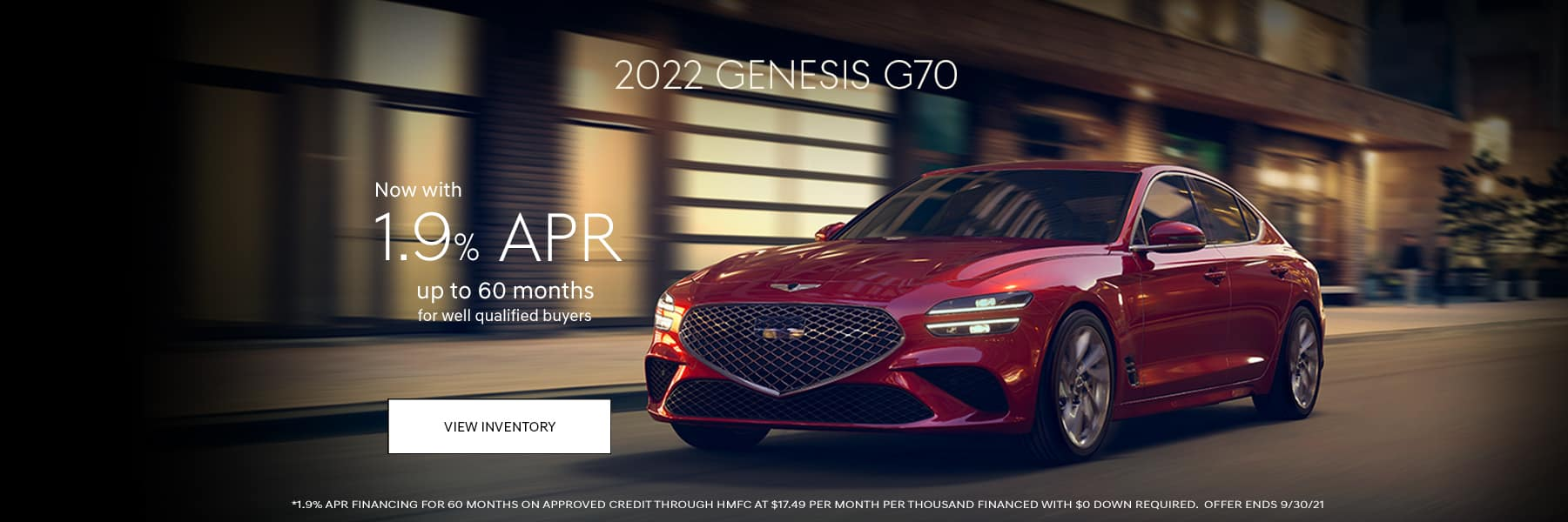 2022-Genesis-G70-Sep21