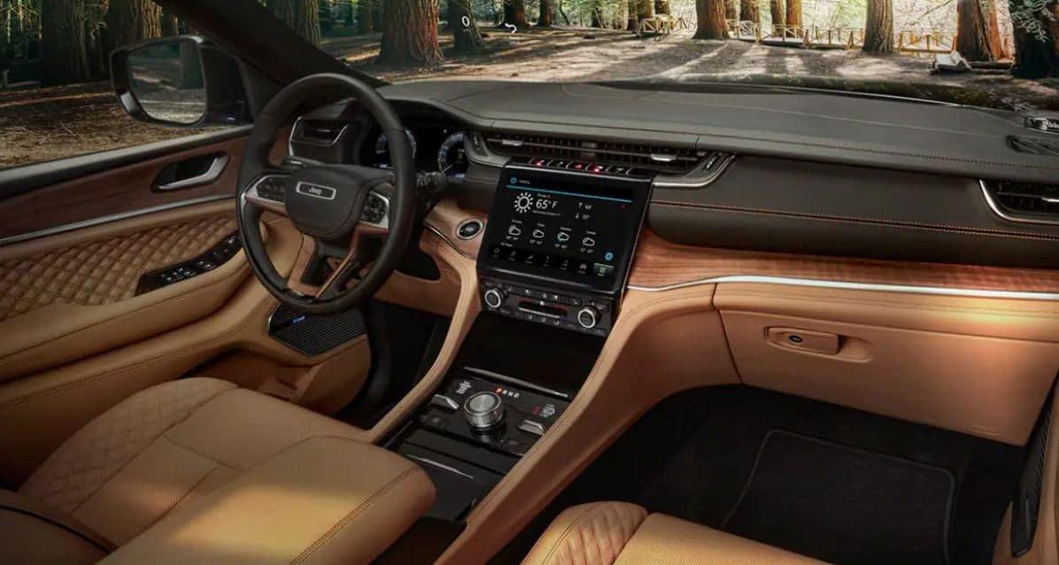 2021 Jeep Grand Cherokee L - Interior