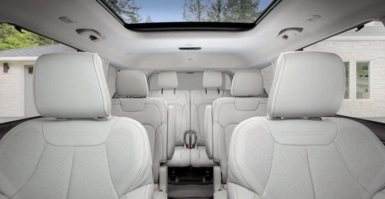 2021 Jeep Grand Cherokee L - Six Seating Configuration