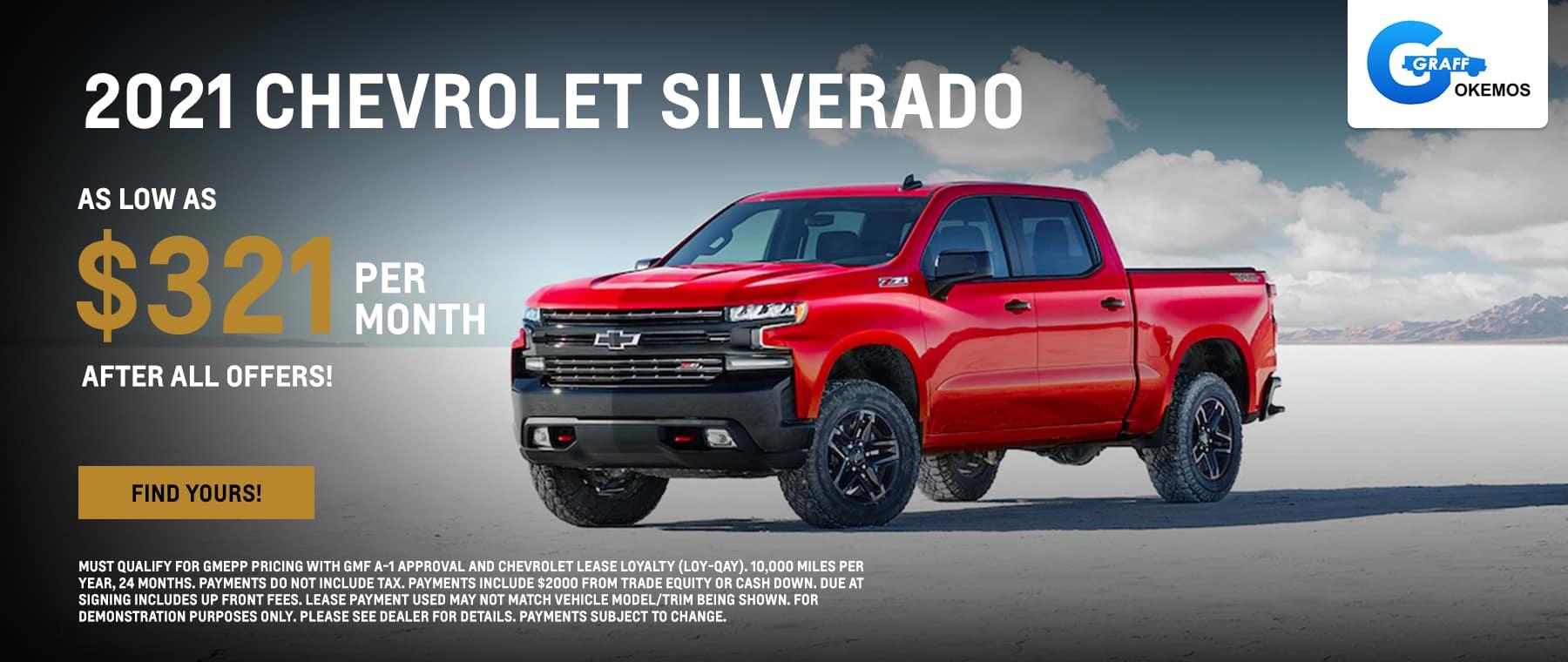 New 2021 Silverado