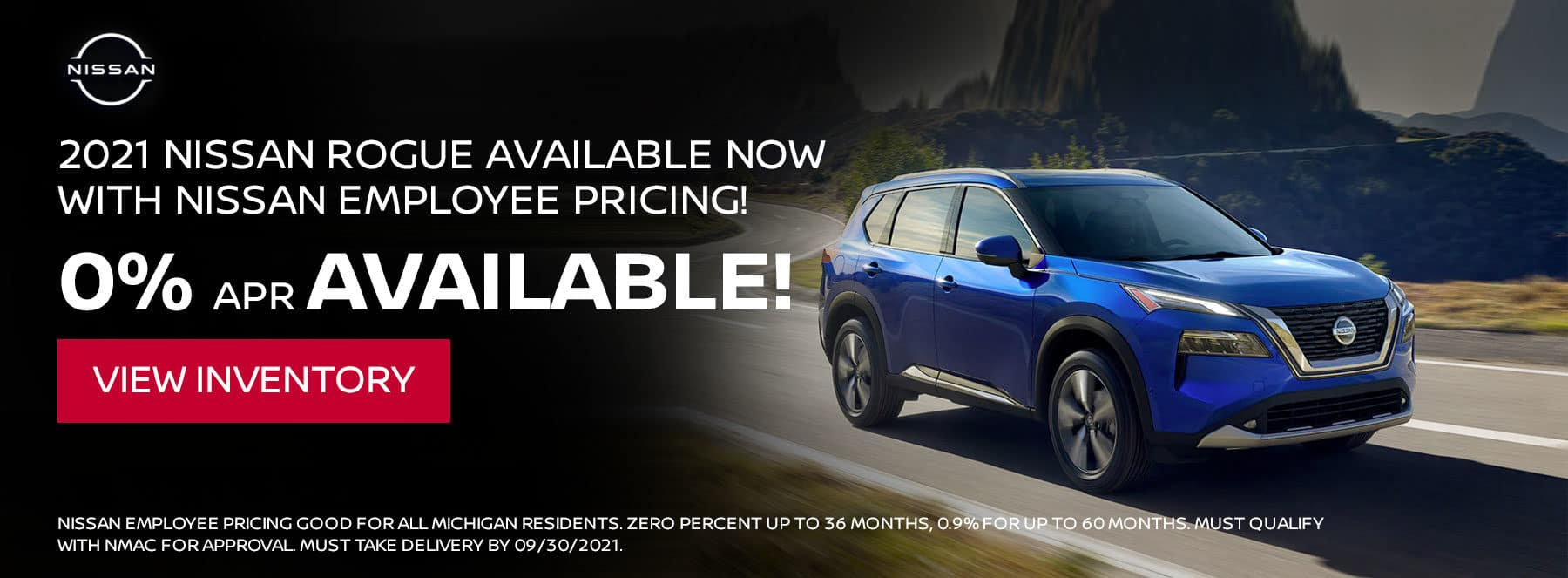 2021 Nissan Rogue available now with Nissan Employee Pricing!