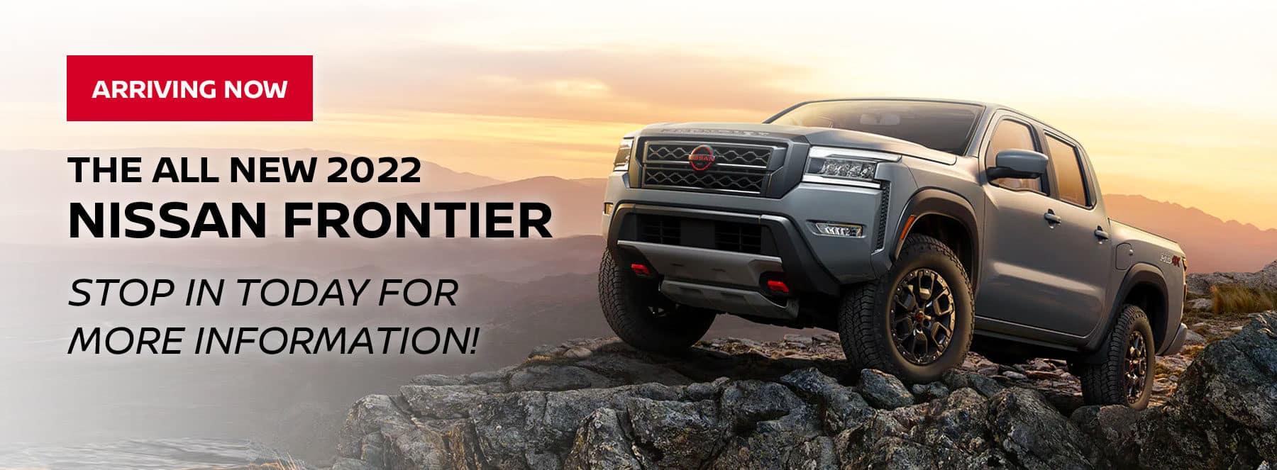 Coming Soon 2022 Nissan Frontier
