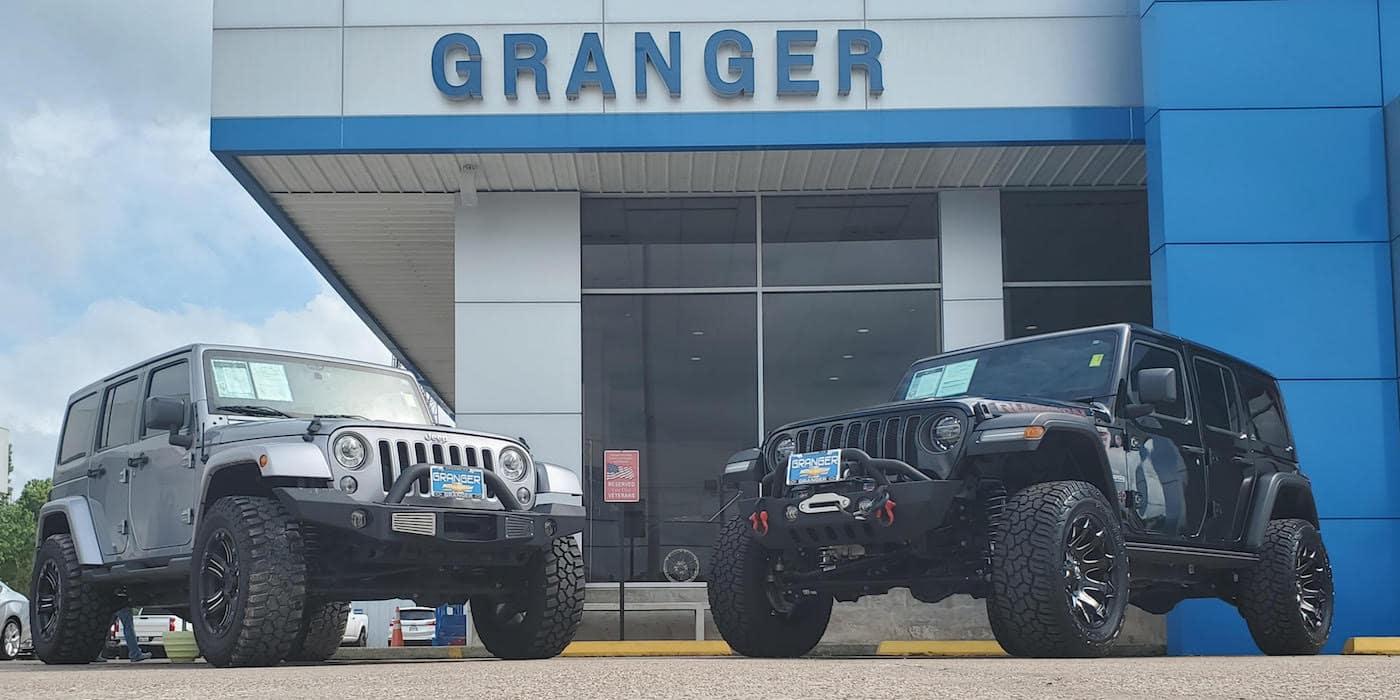 Granger Lifted Trucks