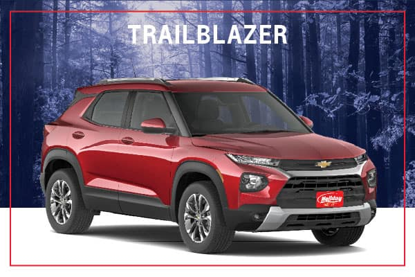 2021 Chevrolet Trailblazer Model Overview Image