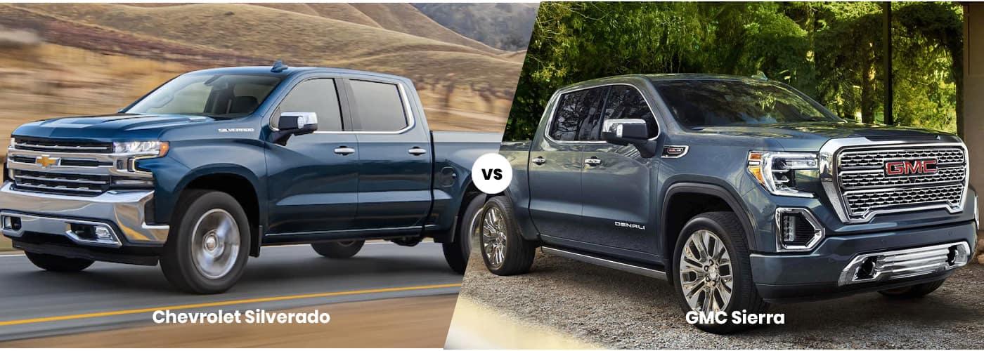 Chevrolet Silverado vs. GMC Sierra