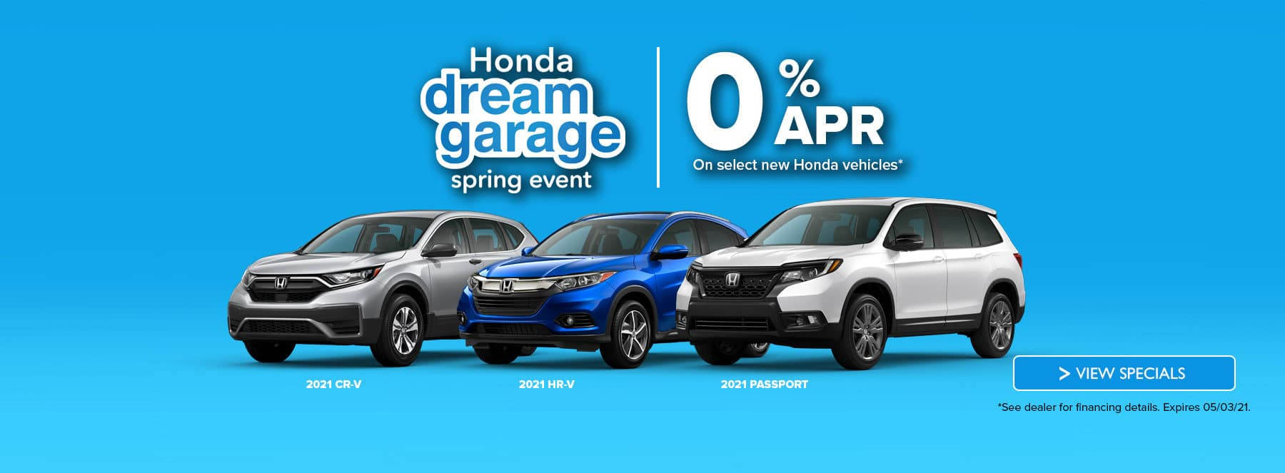 0% APR at Holman Honda