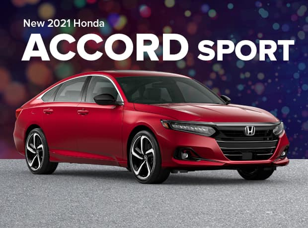 New 2021 Honda Accord Sedan 2.0T Sport