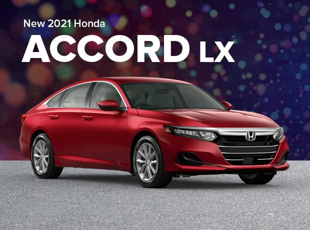 New 2021 Honda Accord Sedan 1.5T LX