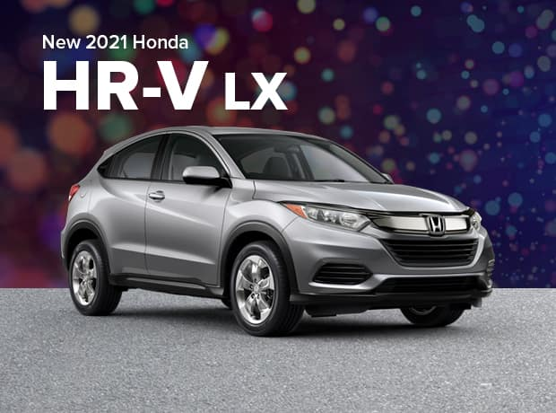 New 2021 Honda HR-V 2WD LX