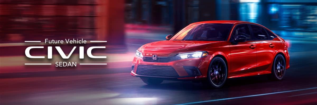 Future Vehicle Honda Civic Sedan