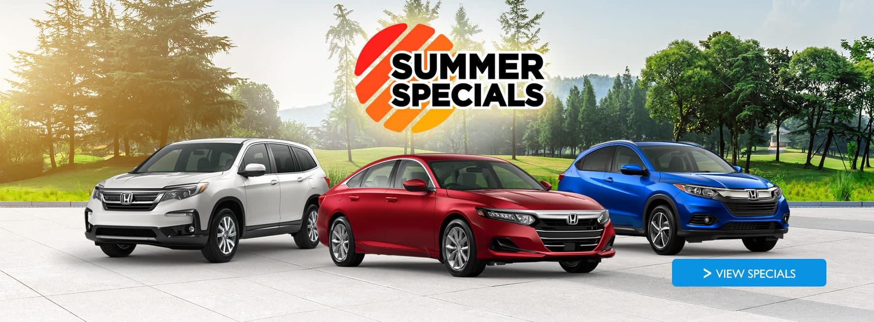 Summer Specials at Holman Honda