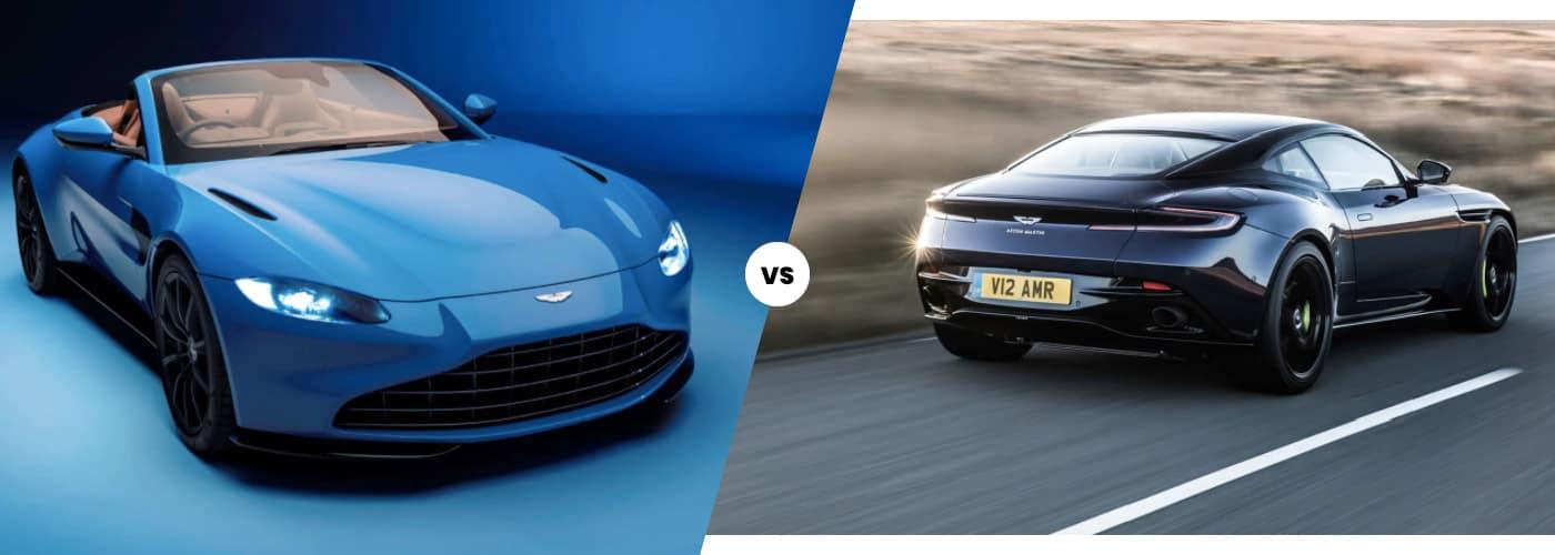 Aston Martin Vantage vs. DB11