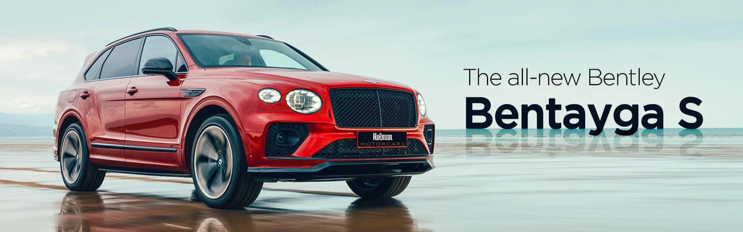 New Bentley Bentayga S