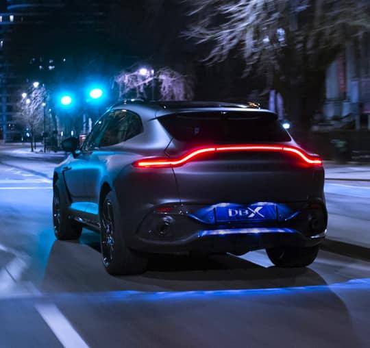Aston Martin DBX Rear View
