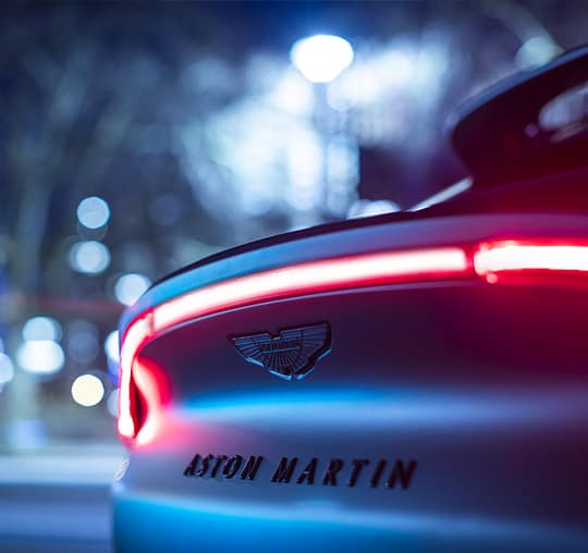 Aston Martin DBX Rear Emblem