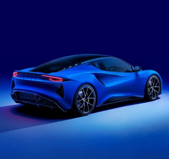 2022 Lotus Emira Rear View