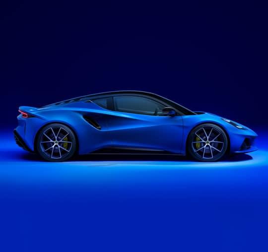2022 Lotus Emira side view