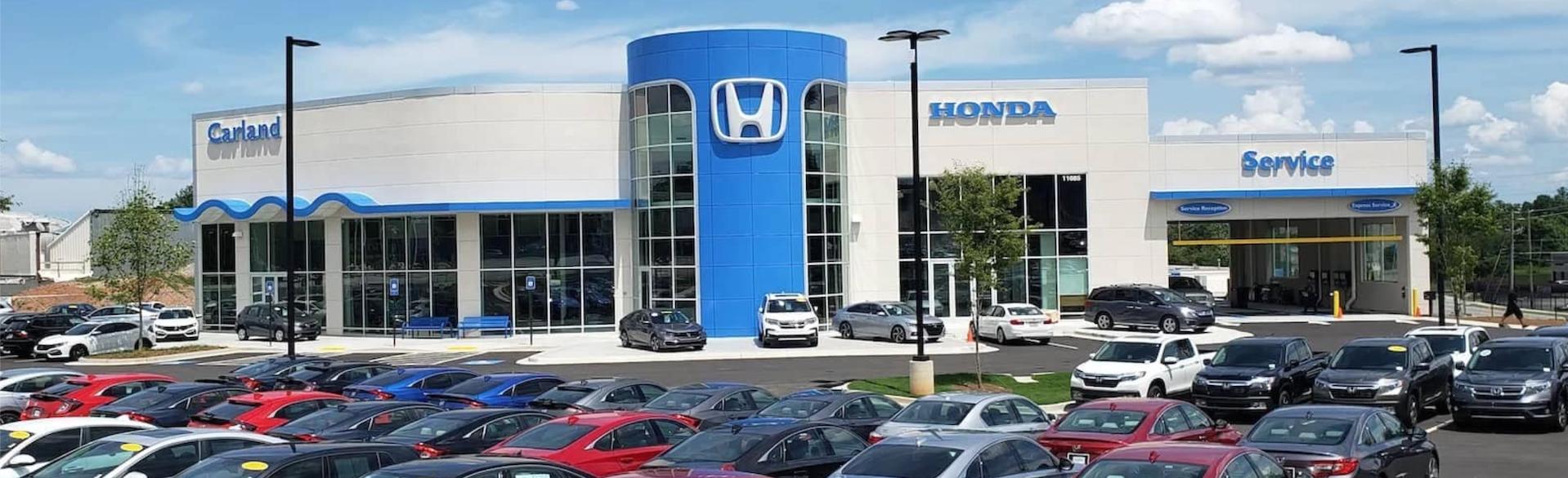Exterior of Honda Carland - Roswell, GA