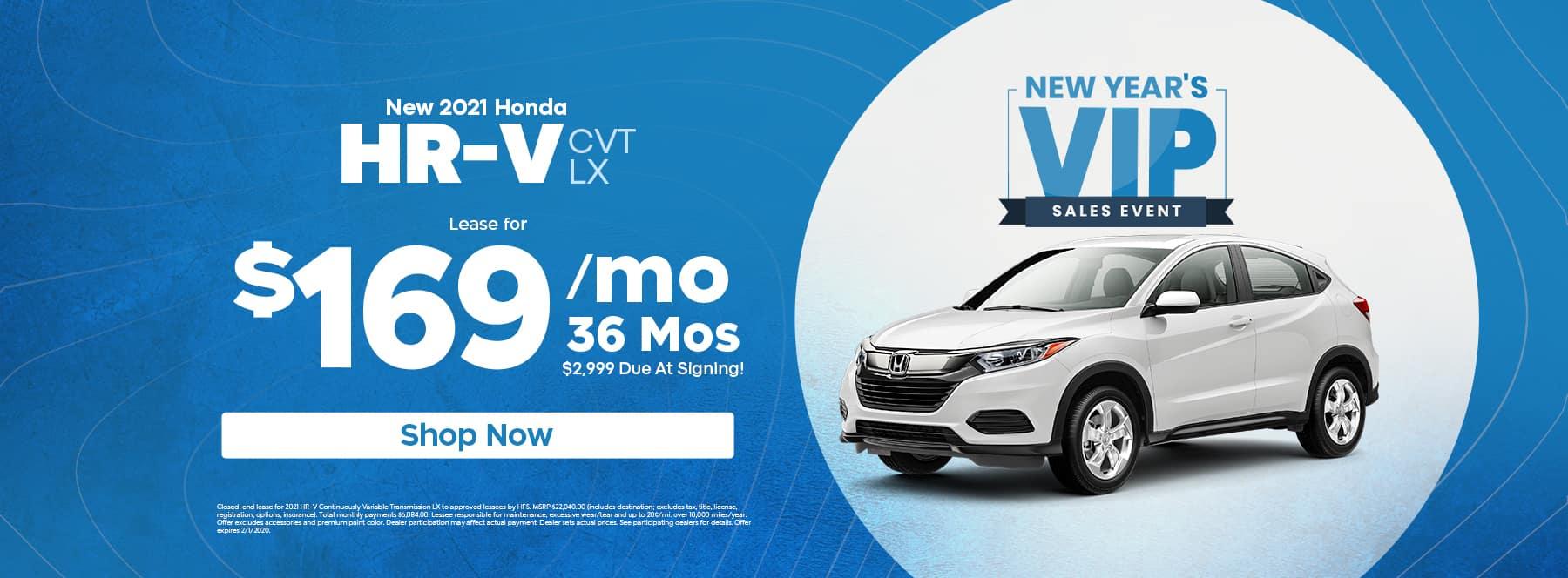 New 2021 Honda HRV - Alpharetta, GA