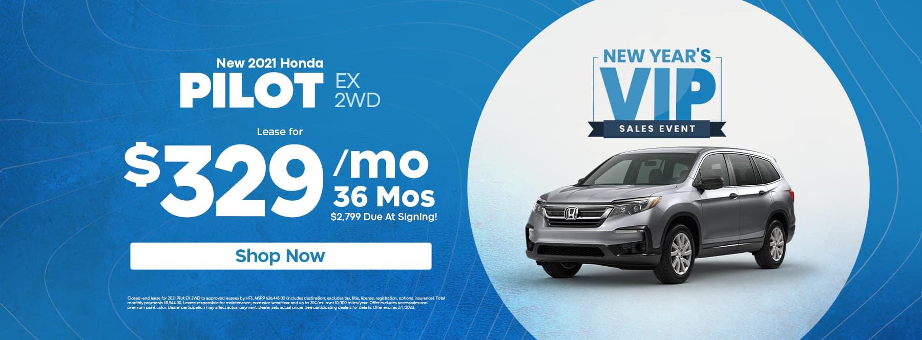 2021 Honda Pilot EX 2WD - Alpharetta, GA