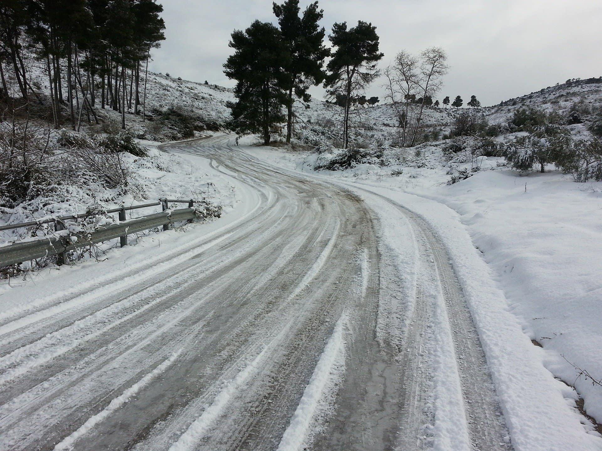 Icy Roads - Roswell, GA