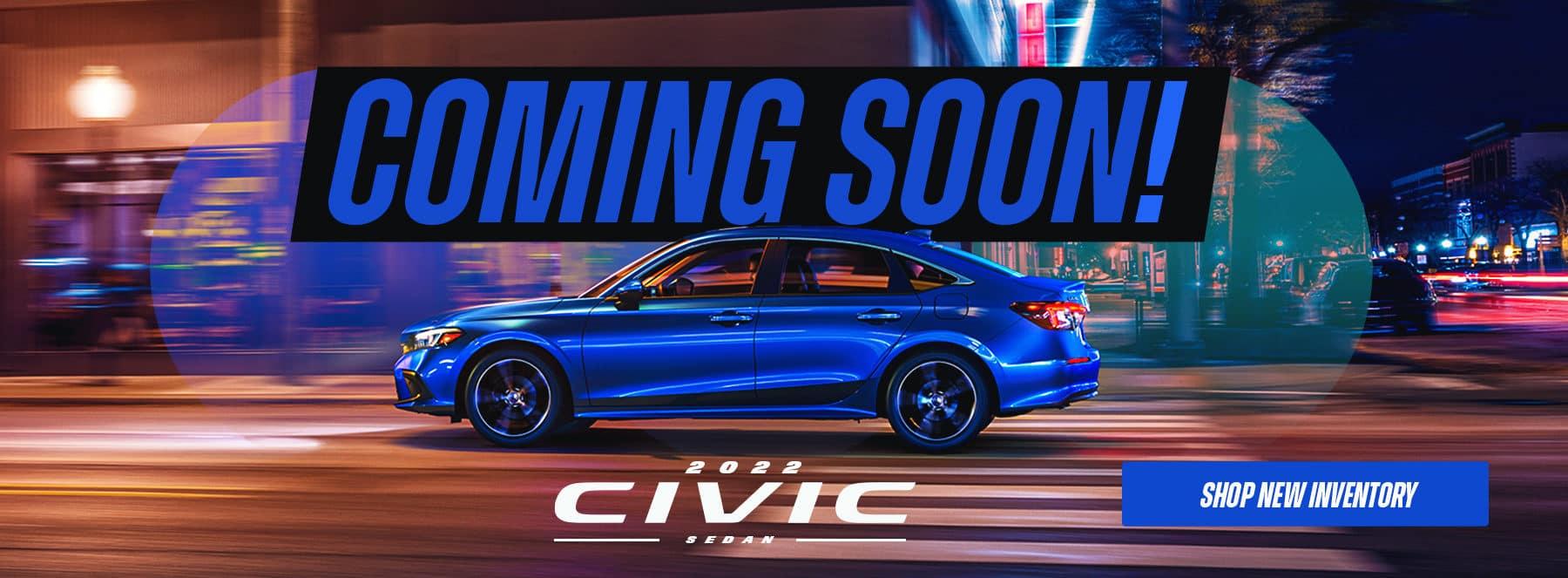 2022 Honda Civic Coming Soon Roswell GA