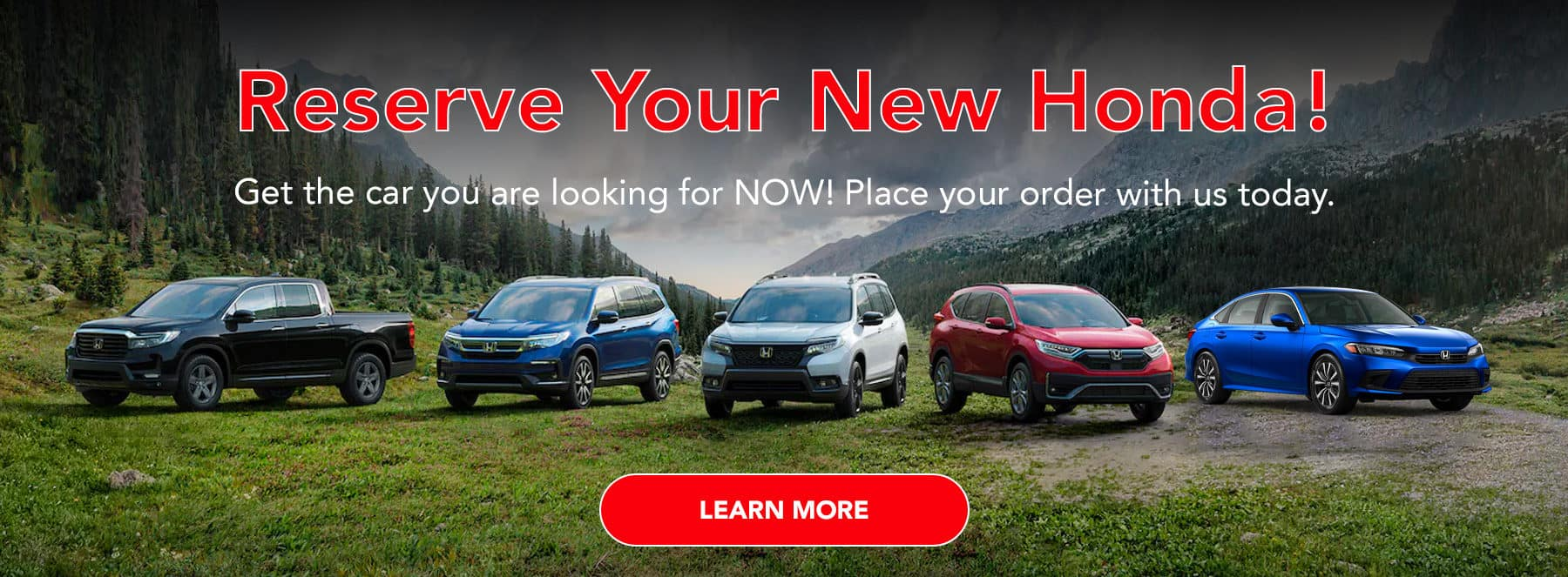 Get the car you're looking for, on your terms, at the best possible price! Place your order with us and we will work out your financing plan.