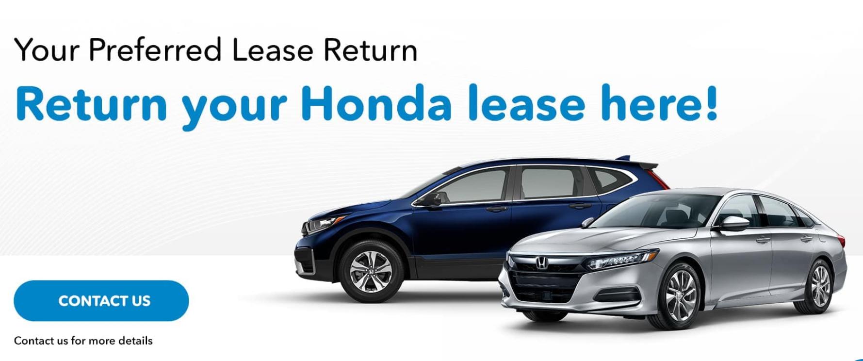 Honda Lease Return