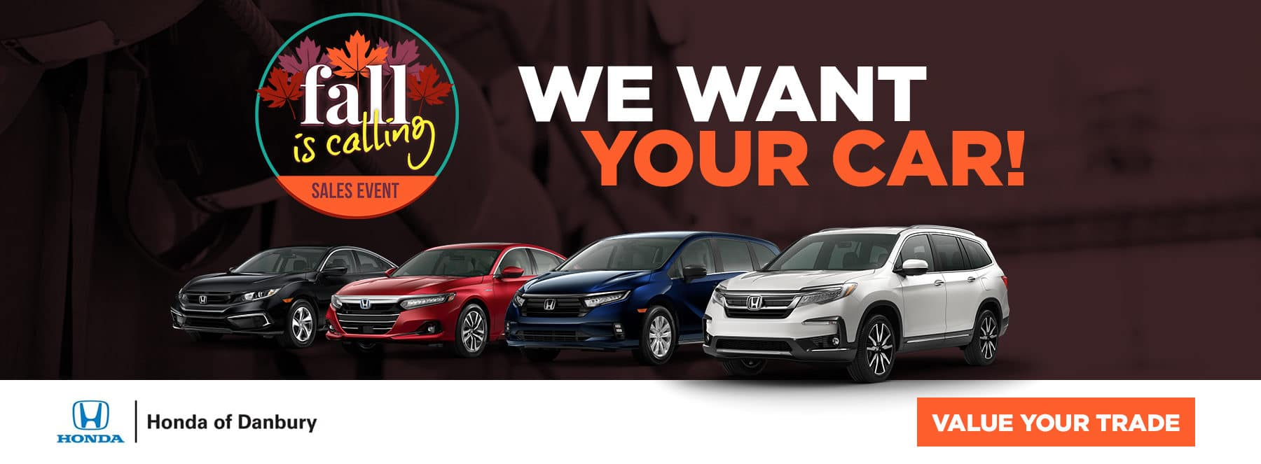 We want your car - Value Your Trade