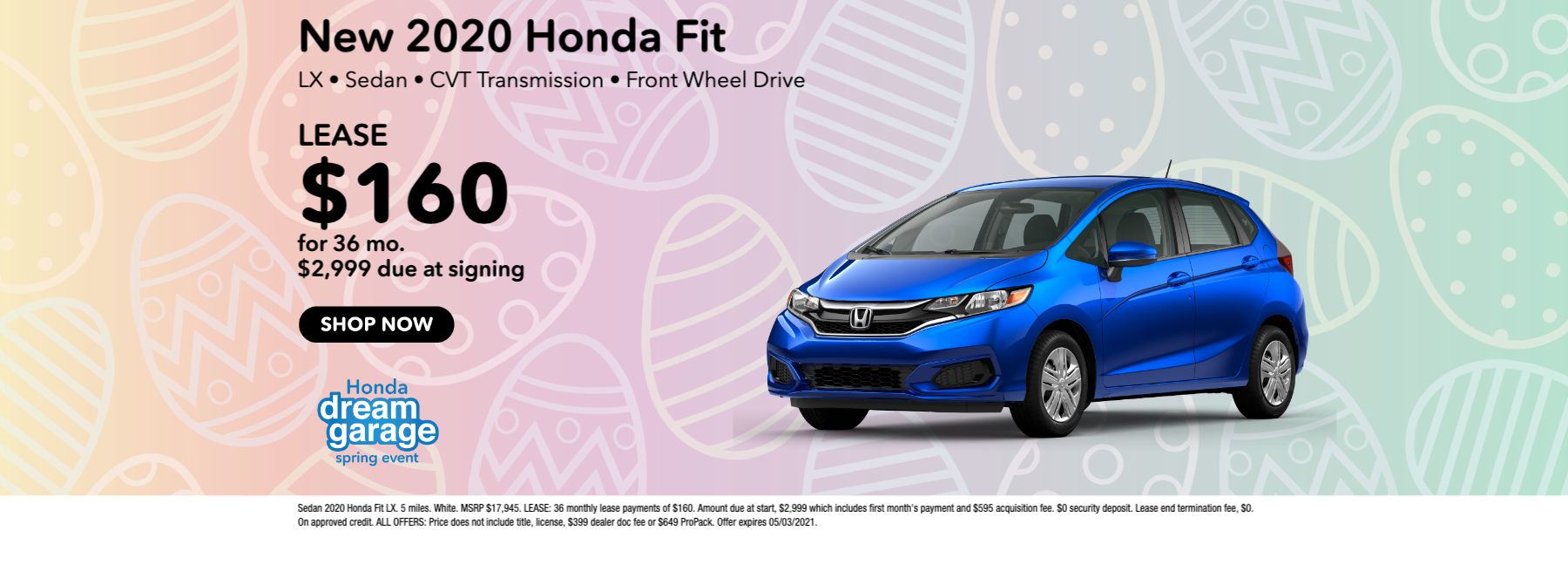 Honda of Great Falls_WF41867_website_3hggk5h47lm731959_honda – bold – black – 1up_scatteredeggs_1800 x 663_2020_honda_fit_lx__0