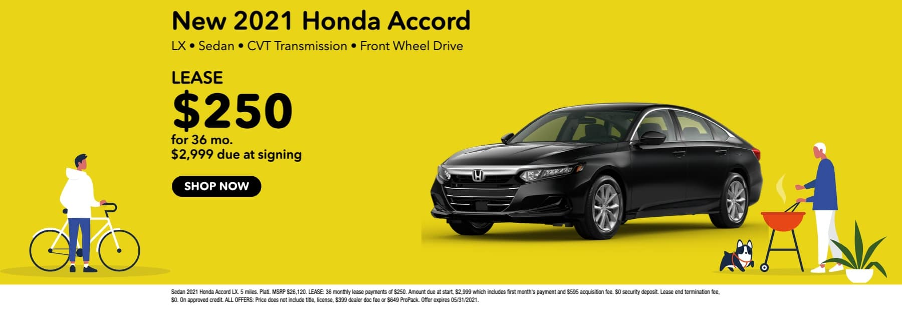 New 2021 Honda Accord LX