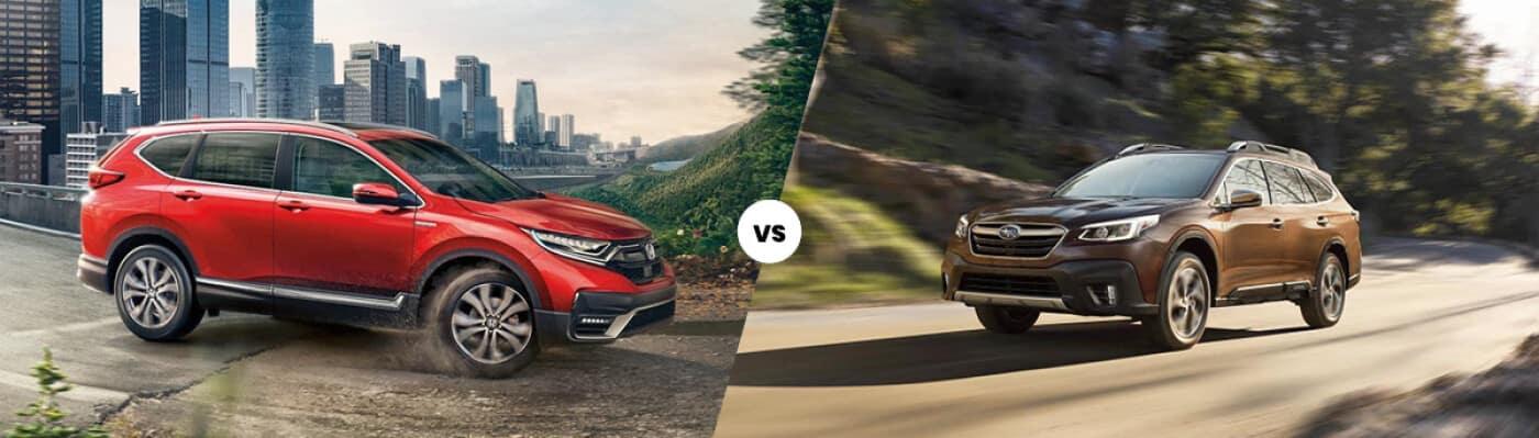 2021 Honda CR-V vs. Subaru Outback