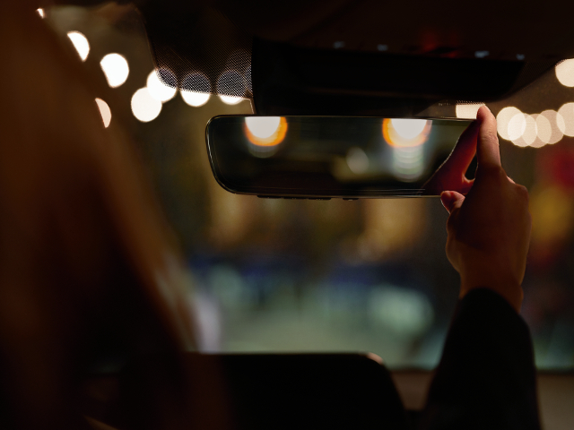 Auto Dimming Rear View Mirror - $369