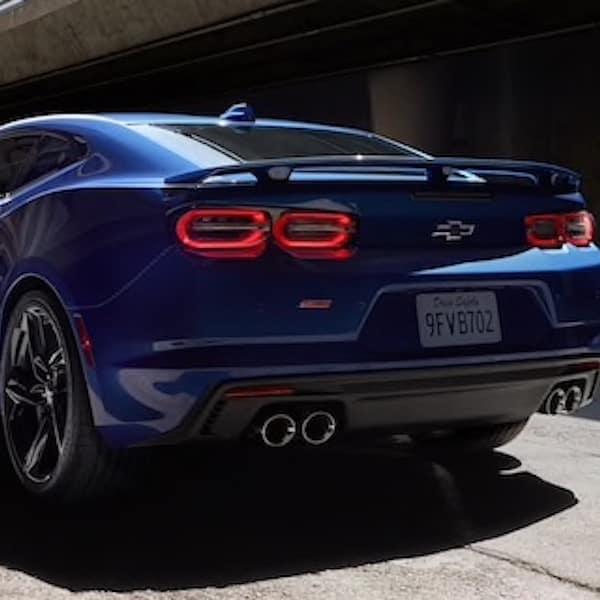 New Chevrolet Camaro Rear Spoiler Taillights Exhaust