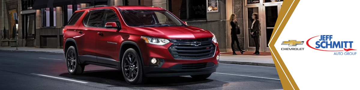 Chevrolet Traverse Huber Heights OH New Red Chevy Traverse SUV For Sale