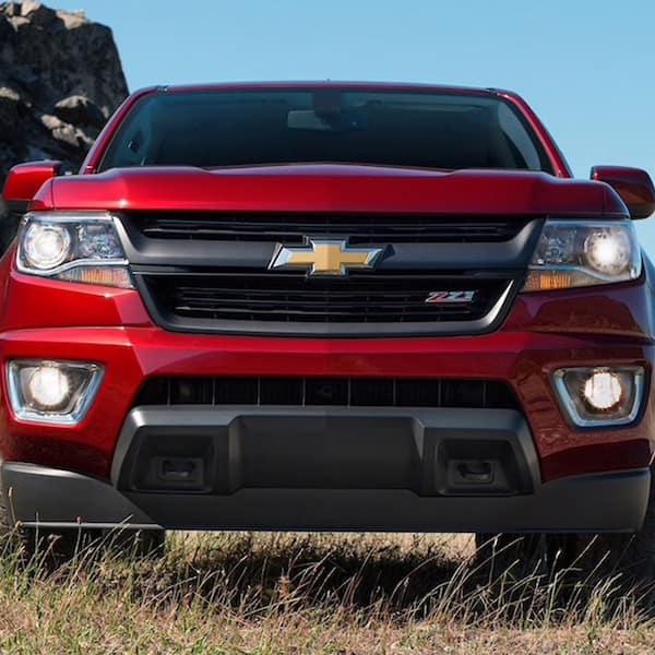 Red Chevrolet Colorado ZR2 For Sale