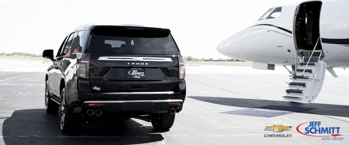 Chevrolet-Tahoe-Dayton-Ohio-2021-Chevrolet-Tahoe-Black-Dayton-Ohio-International-Airport-Private-Jet-Jeff-Schmitt-Chevrolet-Dealer