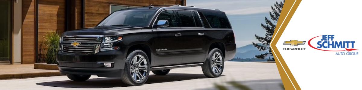 Chevrolet Suburban Troy OH New Black Chevy Suburban Full-Size SUV For Sale Jeff Schmitt Chevrolet North