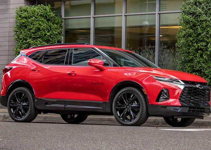 New Chevrolet Blazer SUV Dayton