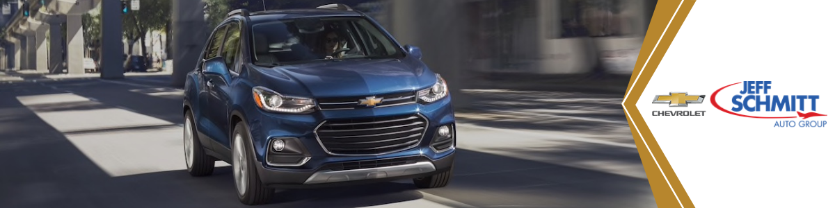 Chevrolet Trax Springboro OH New Blue Chevy Trax Compact SUV For Sale